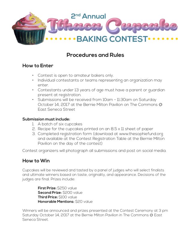 2017-Cupcake-Contest-Rules-Procedures