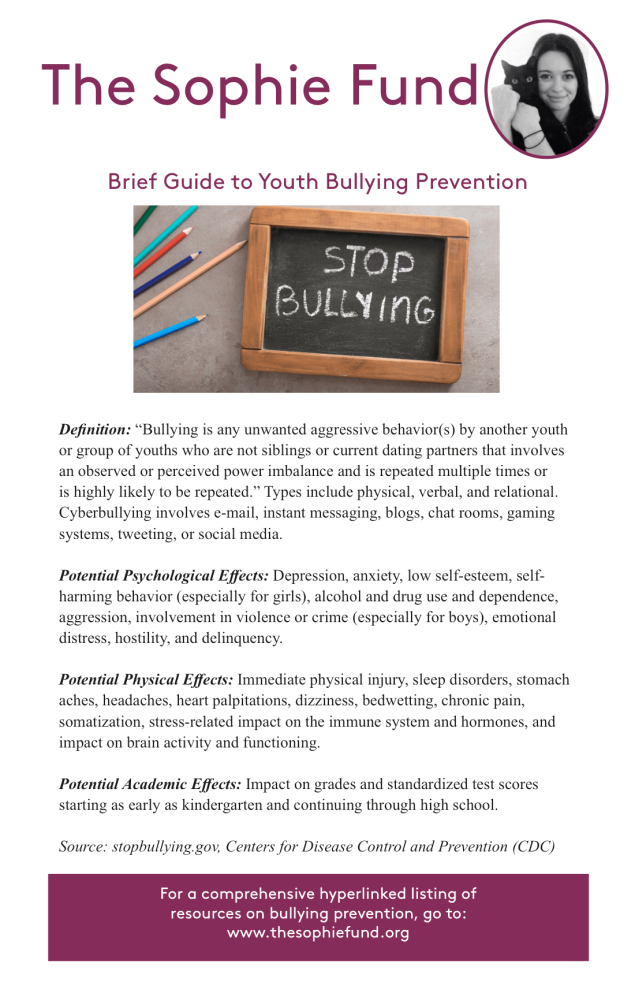 Guide to Bullying Prevention